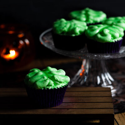 Low Carb Zombie Gehirn-Muffins